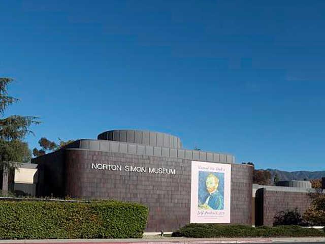 norton simon museum pasadena car rentals
