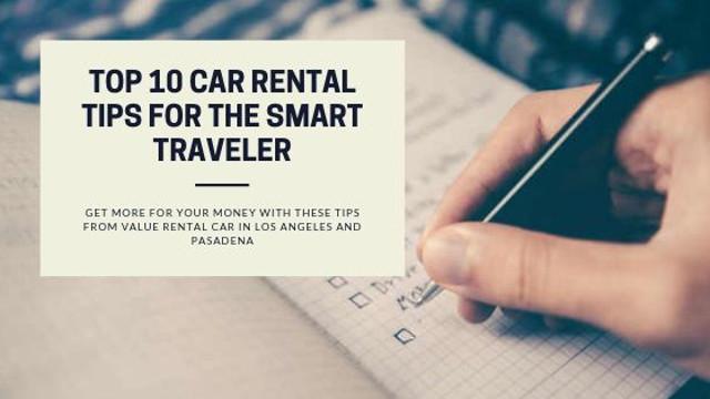 Car Rental Tips rental cars for drivers under 21