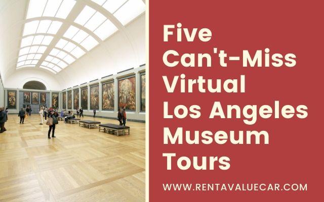 Virtual Los Angeles airport rental car