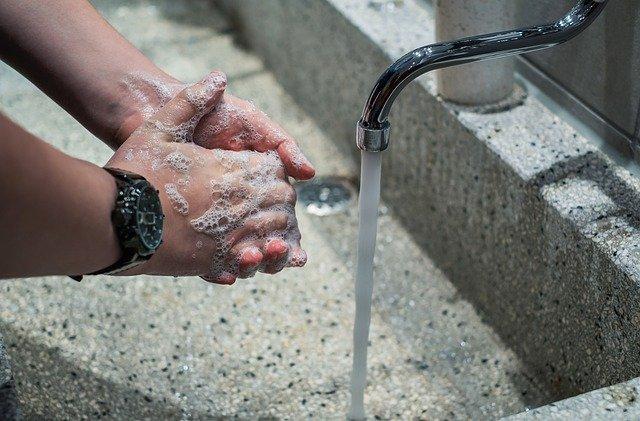 car rental guide wash hands